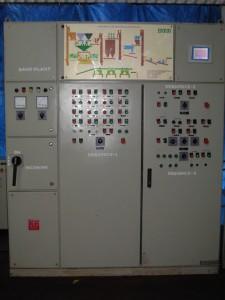 Control Unit for 120 TPH Sand Plant